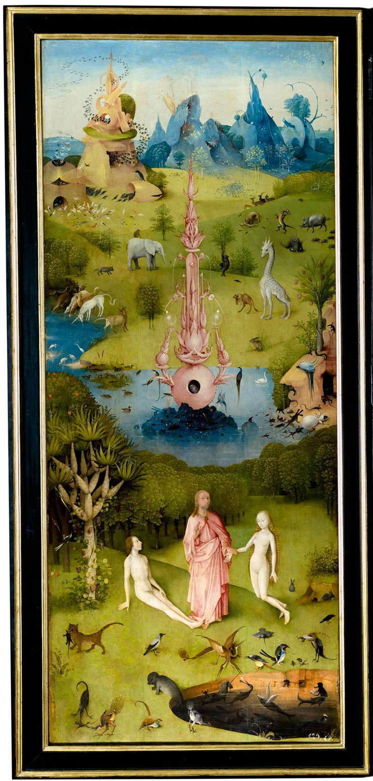hieronymus bosch   the garden of earthly delights 5 Paradise: A Modern Day Interpretation of the Garden of Earthly Delights