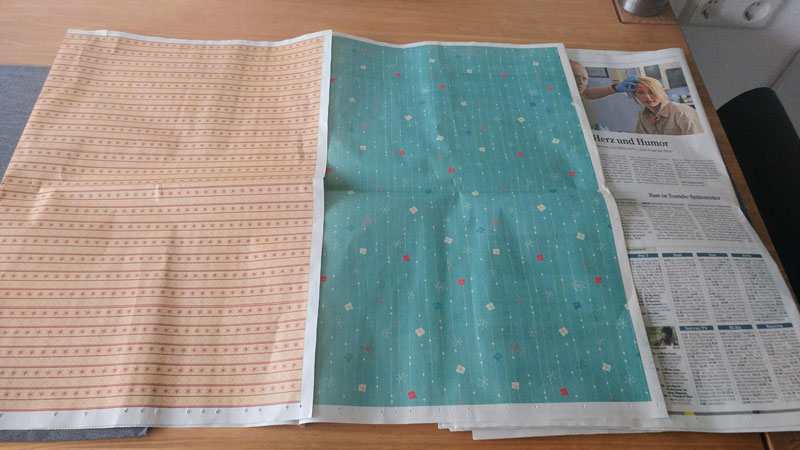 Local Newspaper Prints Full Color Patterns for People to Wrap Presents With