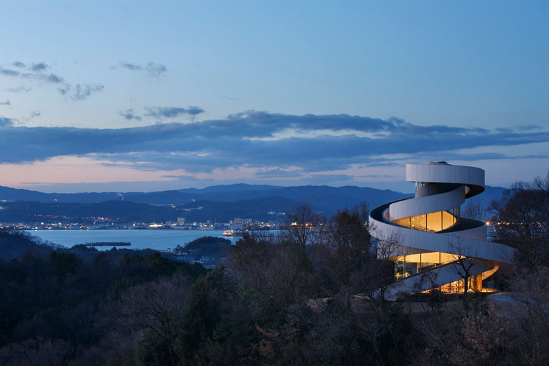 ribbon chapel by hiroshi nakamura and nap architects 3 This Award Winning, Ribbon Wedding Chapel in Japan is Breathtaking