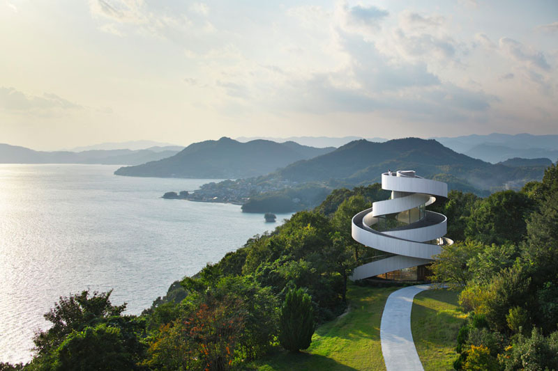 ribbon chapel by hiroshi nakamura and nap architects 8 This Award Winning, Ribbon Wedding Chapel in Japan is Breathtaking