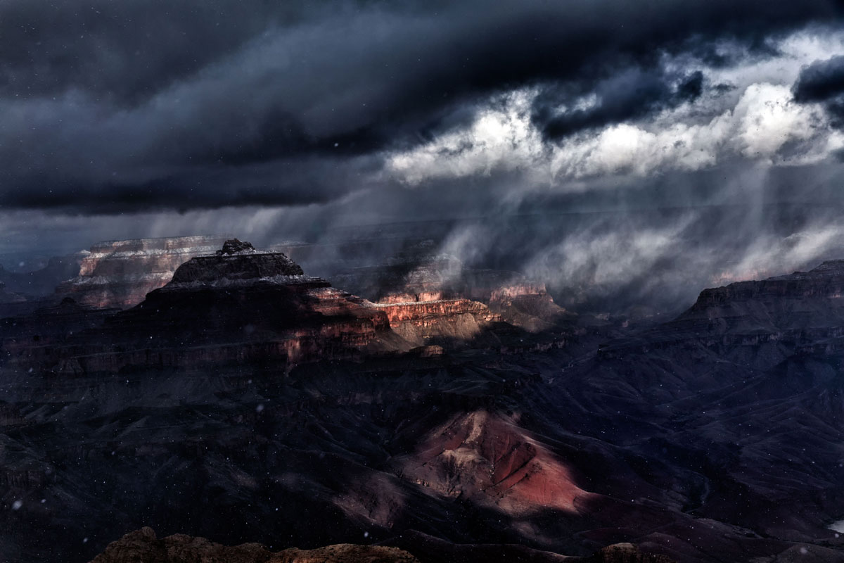 skyglow project harun mehmedinovic kaibab requiem Amazing Things Happen at the Grand Canyon and this Timelapse Captures Them Beautifully