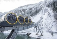 The World's Steepest Cliff Railway Just Opened in the Swiss Alps