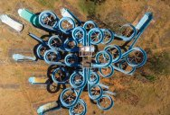 An Abandoned Water Park from Above