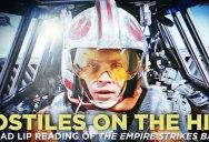 Bad Lip Reading Made a Luke Skywalker Snowspeeder Rap and Damn It's Funky