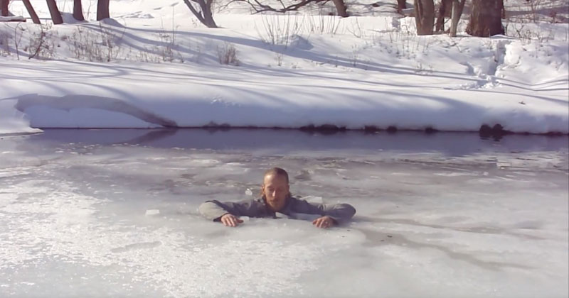 What To Do If You Fall Through Ice