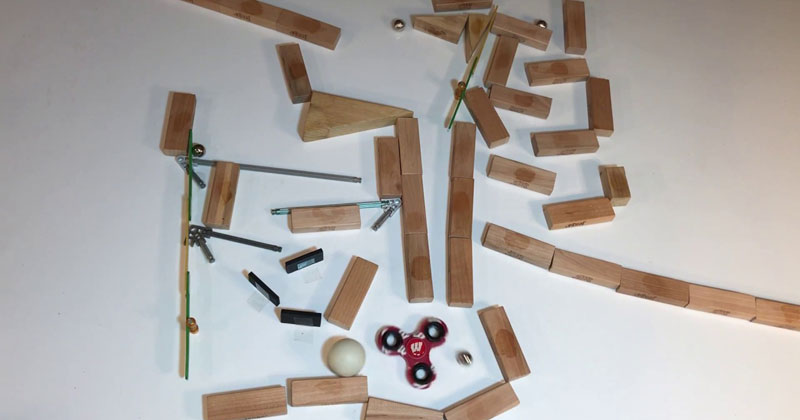 This Marble Run Perfectly Synced to Tchaikovsky's Waltz of the Flowers is Good Internet
