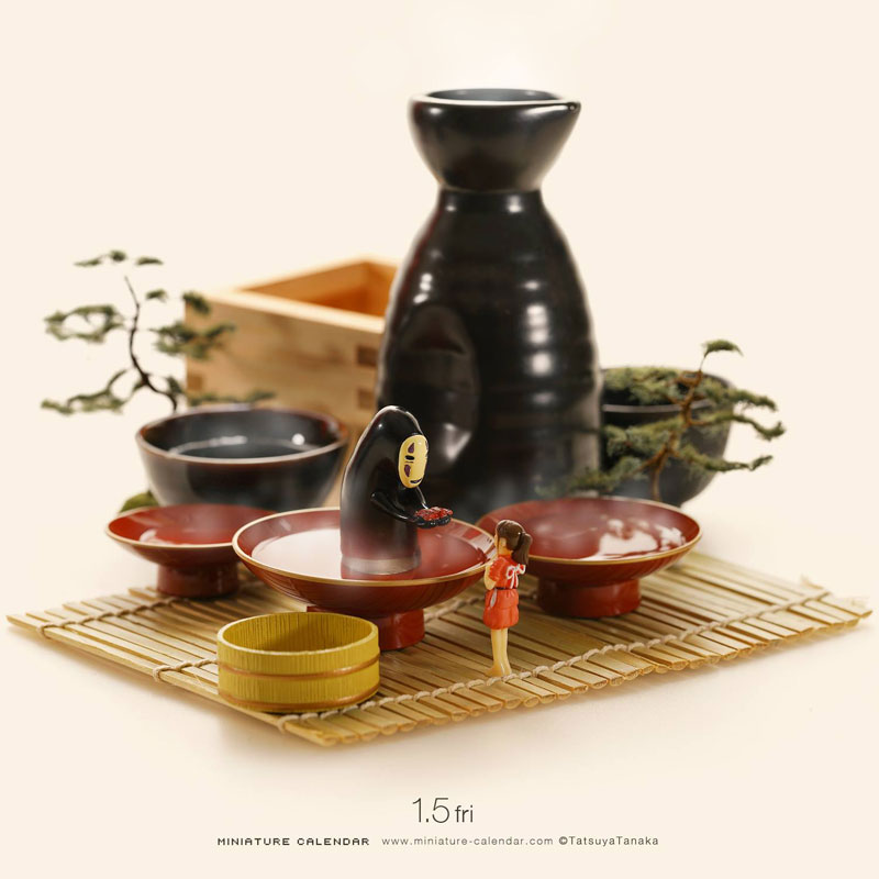 miniature calendar by tatsuya tanaka 13 This Artist Has Created a Miniature Scene Every Single Day Since 2011