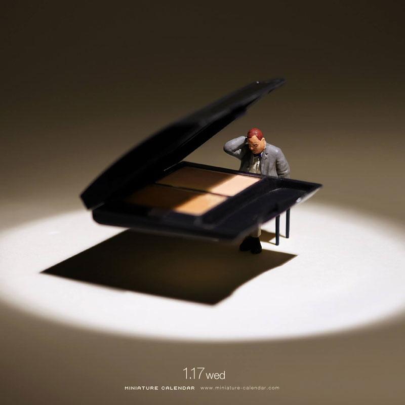 miniature calendar by tatsuya tanaka 16 This Artist Has Created a Miniature Scene Every Single Day Since 2011