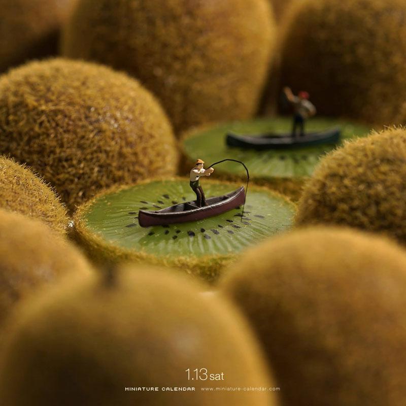 miniature calendar by tatsuya tanaka 19 This Artist Has Created a Miniature Scene Every Single Day Since 2011