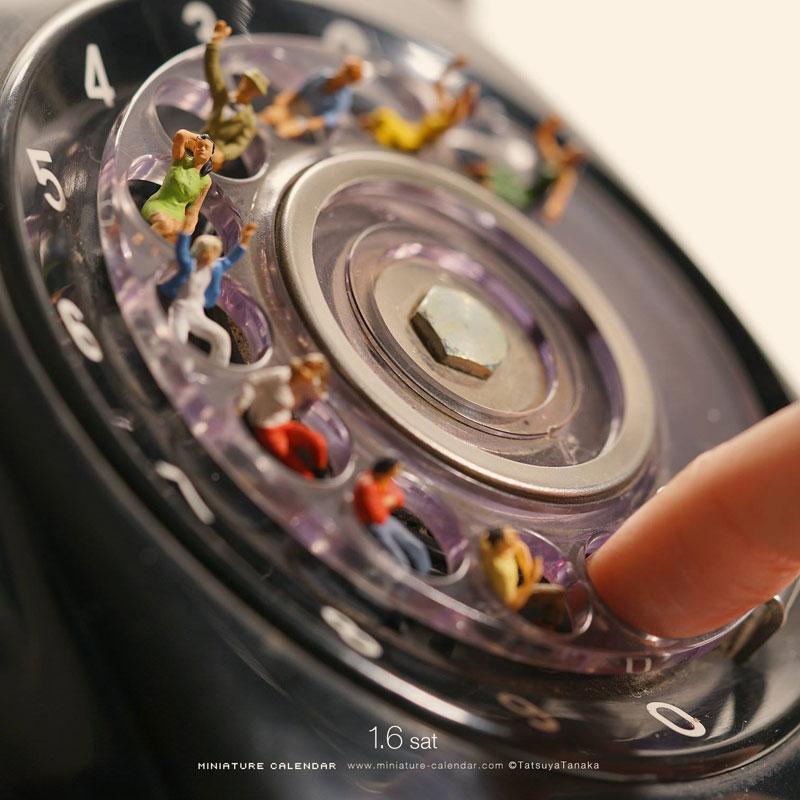 miniature calendar by tatsuya tanaka 20 This Artist Has Created a Miniature Scene Every Single Day Since 2011