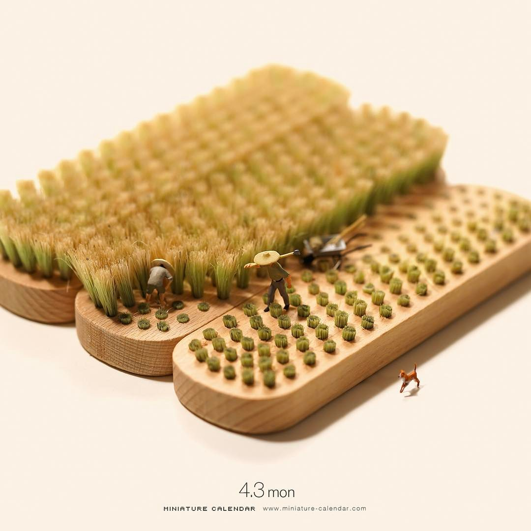 miniature calendar by tatsuya tanaka 29 This Artist Has Created a Miniature Scene Every Single Day Since 2011