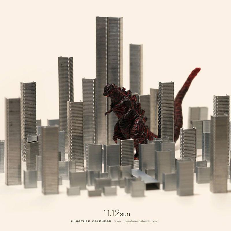 miniature calendar by tatsuya tanaka 3 This Artist Has Created a Miniature Scene Every Single Day Since 2011