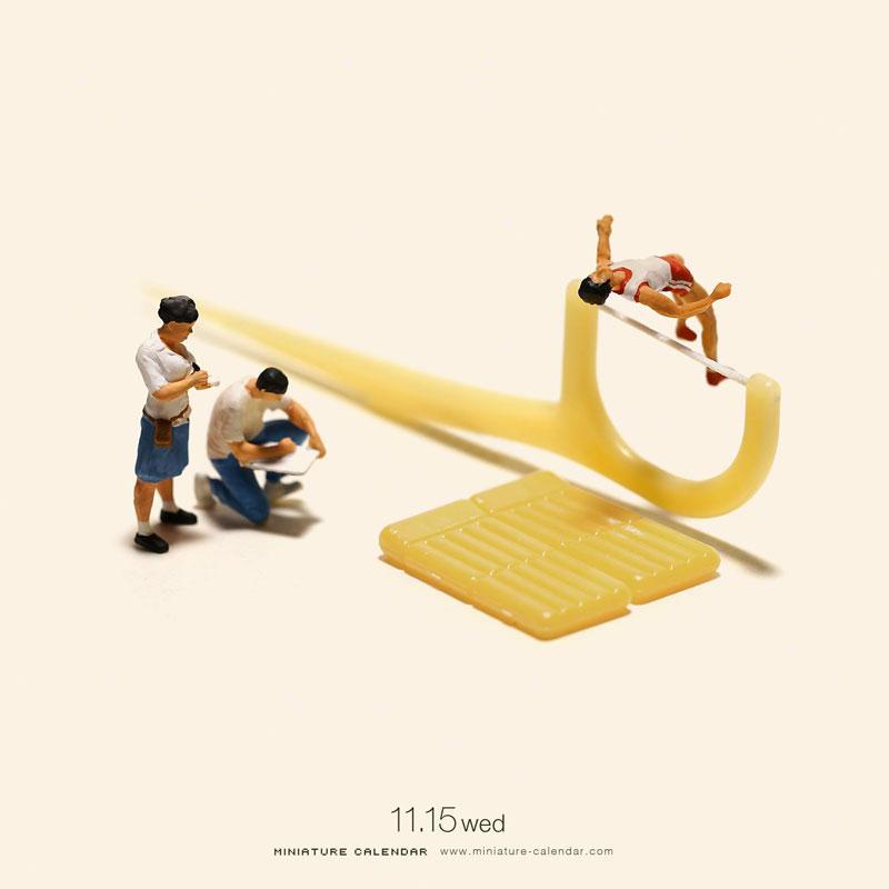 miniature calendar by tatsuya tanaka 5 This Artist Has Created a Miniature Scene Every Single Day Since 2011