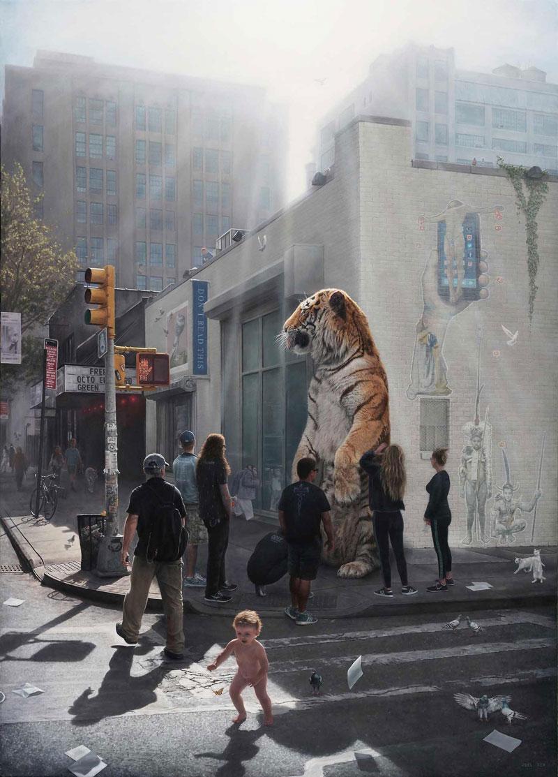 surreal oil paintings by joel rea 1 The Surreal Oil Paintings of Joel Rea (12 Photos)