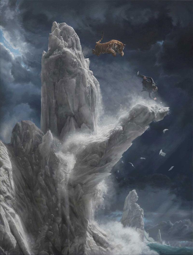 surreal oil paintings by joel rea 10 The Surreal Oil Paintings of Joel Rea (12 Photos)