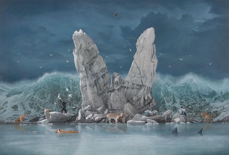 surreal oil paintings by joel rea 9 The Surreal Oil Paintings of Joel Rea (12 Photos)
