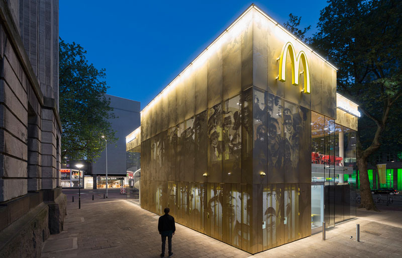 worlds fanciest mcdonalds mei architects rotterdam 12 People Really Love or Hate this Fancy McDonalds in Rotterdam