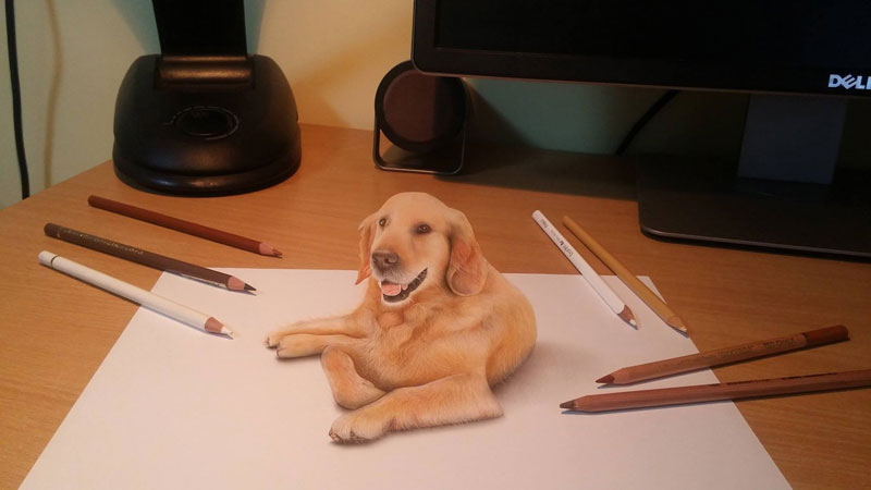 3d drawings by nikola culjiic 3 Amazing 3D Drawings that Seem to Leap Off the Page