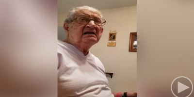 98-Year-Old Dad Reacts to Finding Out How Old He Actually Is