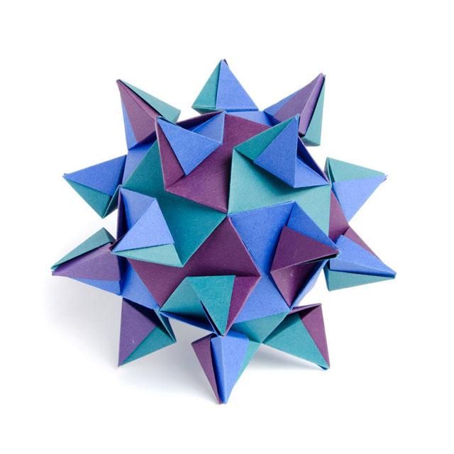 modular origami by ekaterina lukasheva 1 37 Incredible Modular Origami Works by Ekaterina Lukasheva