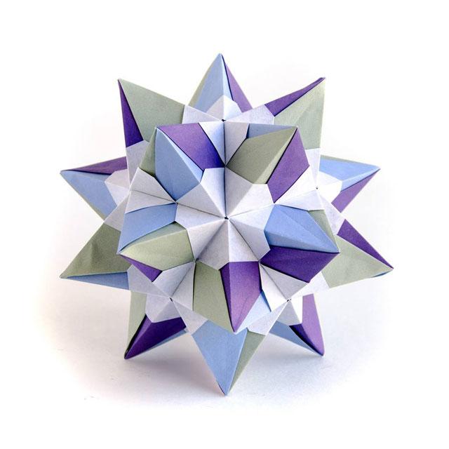 modular origami by ekaterina lukasheva 11 37 Incredible Modular Origami Works by Ekaterina Lukasheva