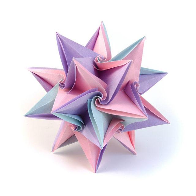 modular origami by ekaterina lukasheva 16 37 Incredible Modular Origami Works by Ekaterina Lukasheva
