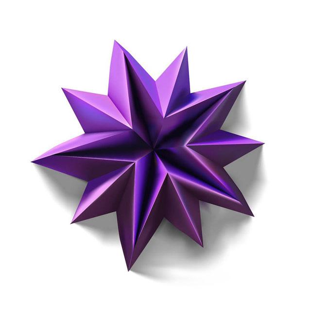 modular origami by ekaterina lukasheva 17 37 Incredible Modular Origami Works by Ekaterina Lukasheva