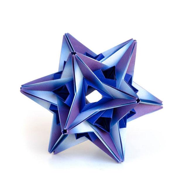 modular origami by ekaterina lukasheva 2 37 Incredible Modular Origami Works by Ekaterina Lukasheva
