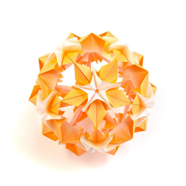 modular origami by ekaterina lukasheva 21 37 Incredible Modular Origami Works by Ekaterina Lukasheva