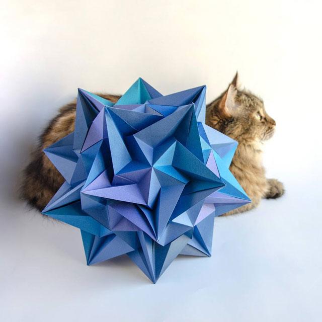 modular origami by ekaterina lukasheva 22 37 Incredible Modular Origami Works by Ekaterina Lukasheva