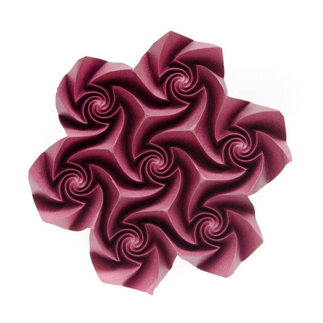 modular origami by ekaterina lukasheva 24 37 Incredible Modular Origami Works by Ekaterina Lukasheva