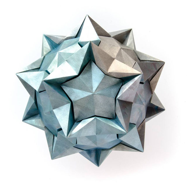 modular origami by ekaterina lukasheva 27 37 Incredible Modular Origami Works by Ekaterina Lukasheva