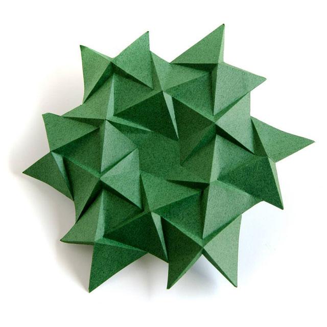modular origami by ekaterina lukasheva 4 37 Incredible Modular Origami Works by Ekaterina Lukasheva