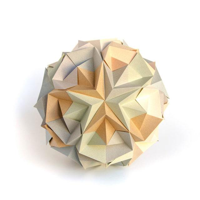 modular origami by ekaterina lukasheva 6 37 Incredible Modular Origami Works by Ekaterina Lukasheva