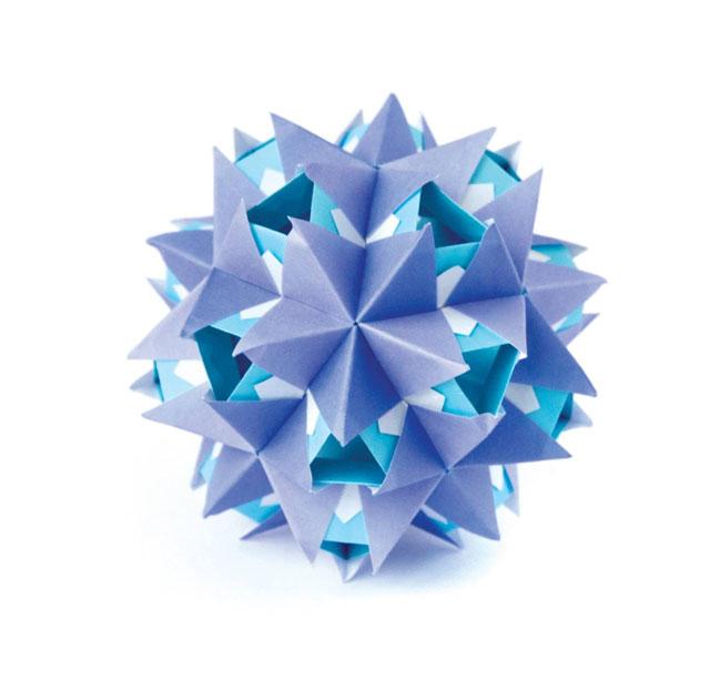 modular origami by ekaterina lukasheva 8 37 Incredible Modular Origami Works by Ekaterina Lukasheva