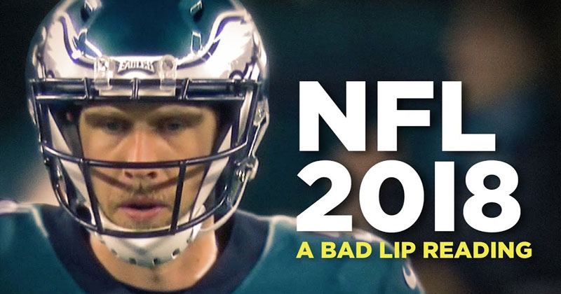 A Bad Lip Reading of the 2018 NFL Season