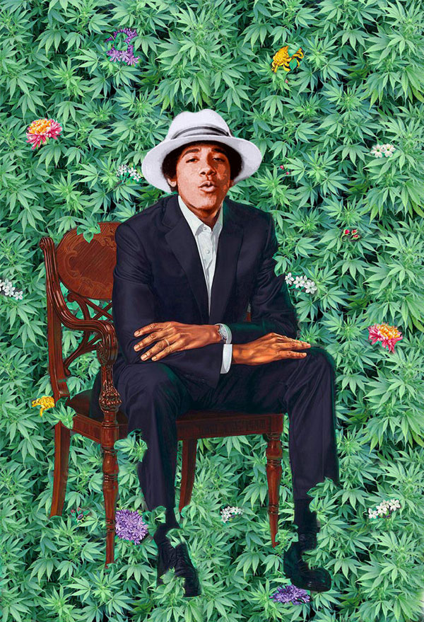 obama portrait memes 1 The Internet Had a Field Day With Obamas Official Portrait