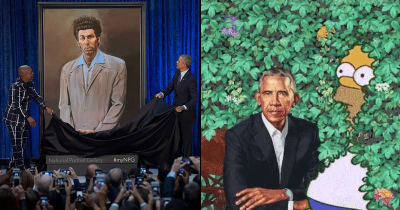 The Internet Had a Field Day With Obama's Official Portrait