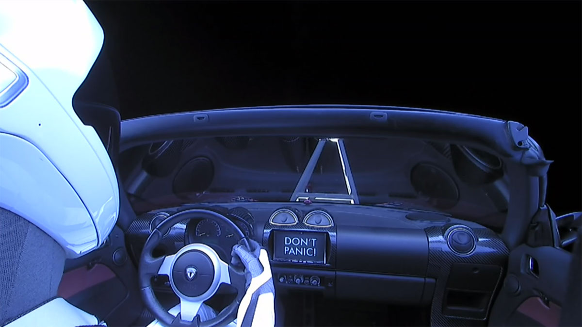 spacex falcon heavy launch tesla to mars 16 SpaceX Just Launched the Worlds Most Powerful Rocket and Sent a Tesla to Mars