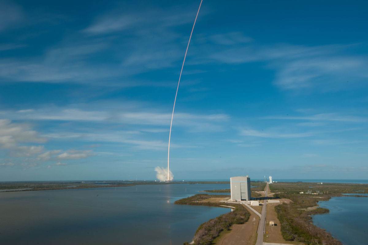 spacex falcon heavy launch tesla to mars 8 SpaceX Just Launched the Worlds Most Powerful Rocket and Sent a Tesla to Mars