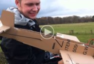 These Guys Built a Cardboard Plane and the Test Flight is What Pure Joy is Like