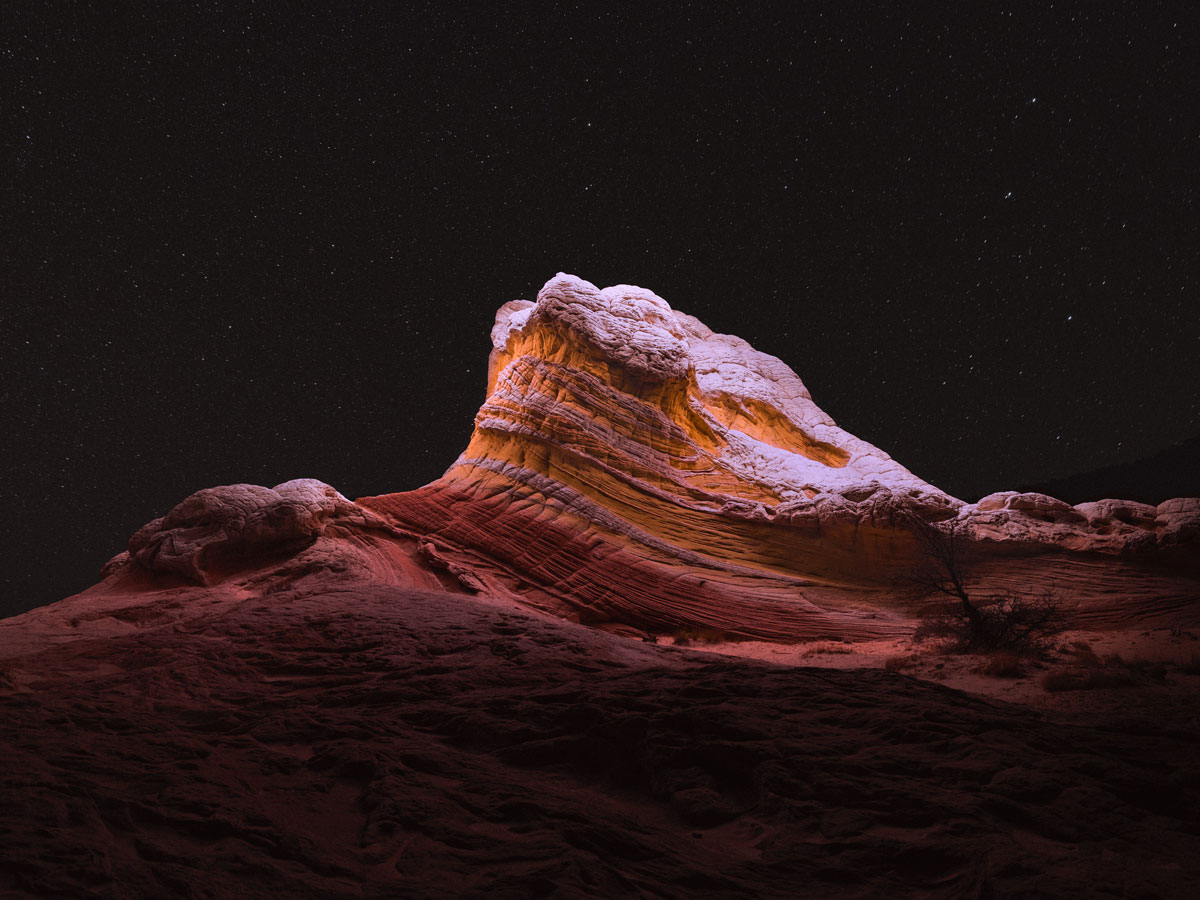 lux noctis by reuben wu 3 Long Exposure Mountain Halos and Drone Illuminated Landscapes at Night