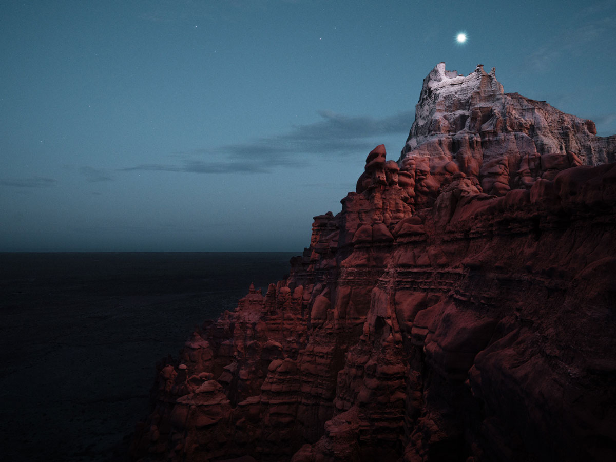 lux noctis by reuben wu 4 Long Exposure Mountain Halos and Drone Illuminated Landscapes at Night