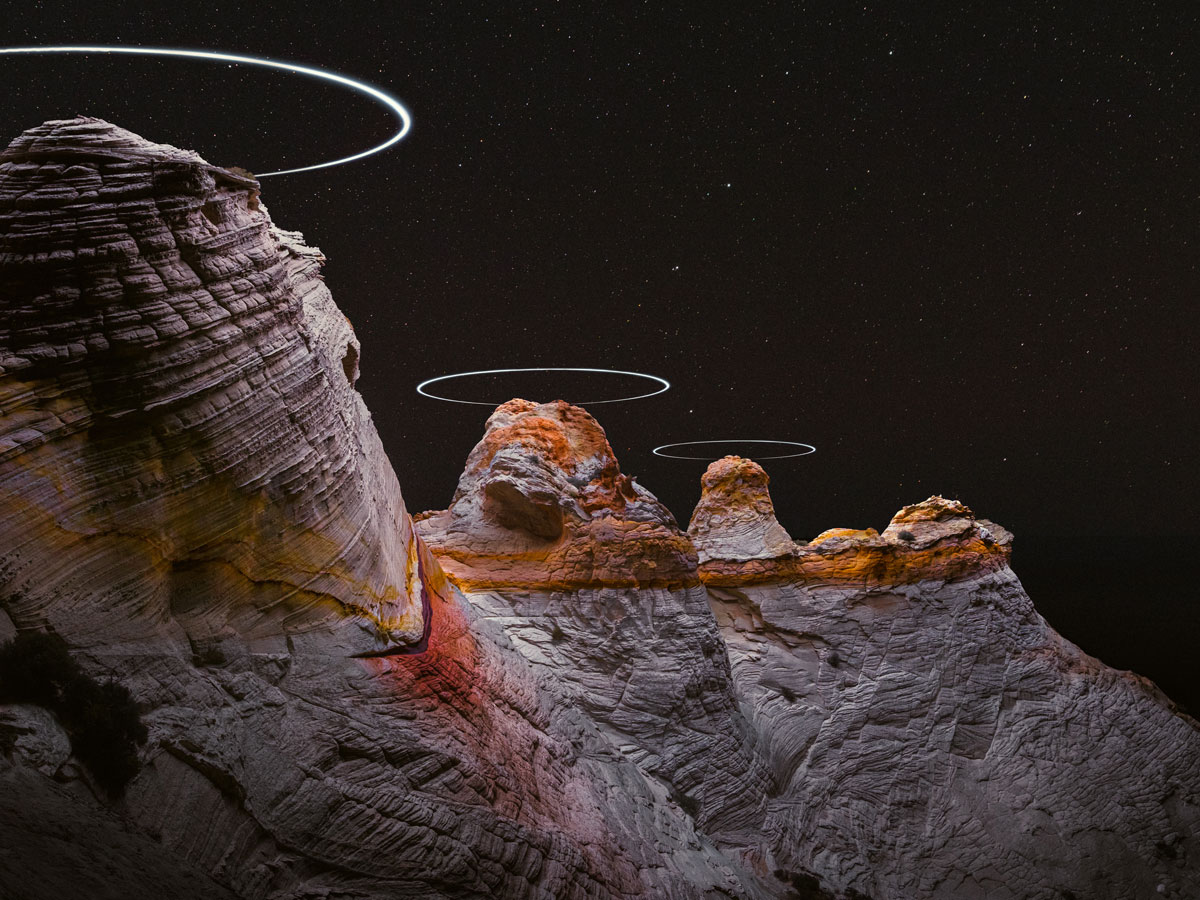 lux noctis by reuben wu 7 Long Exposure Mountain Halos and Drone Illuminated Landscapes at Night