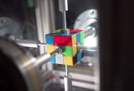 This Machine Just Solved a Rubik's Cube in 0.38 Seconds