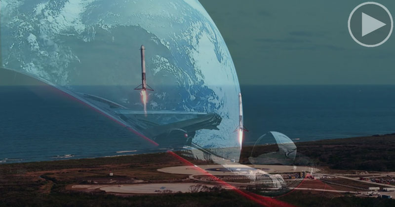SpaceX Releases Official Falcon Heavy and Starman Launch Video