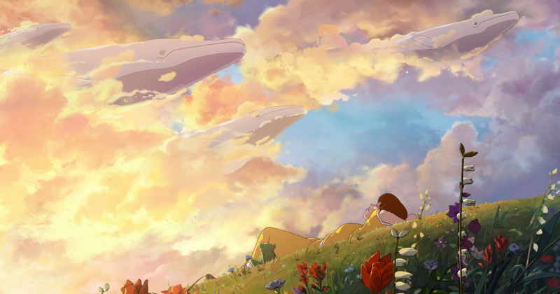 The Artwork for Oregon's Anime-Inspired Tourism Spot is Beautiful