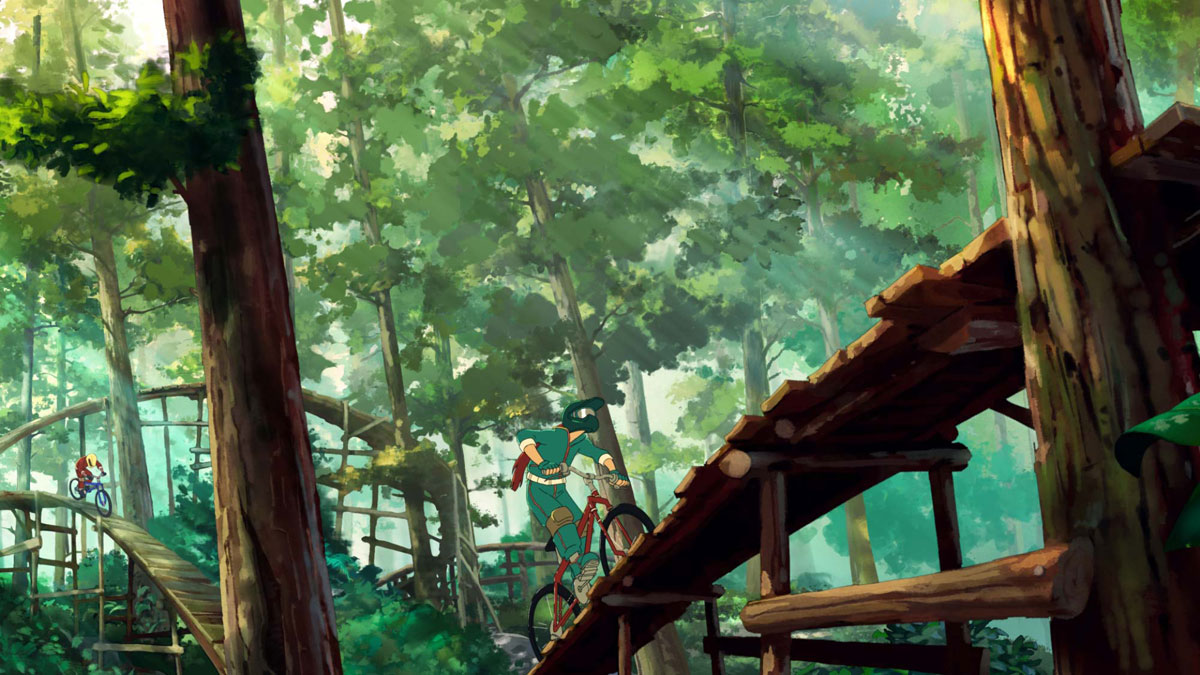 travel oregon anime 5 The Artwork for Oregons Anime Inspired Tourism Spot is Beautiful
