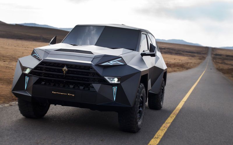 worlds most expensive suv karlmann king 16 The Outrageous SUV Inspired by the Stealth F 117 Nighthawk (21 Pics)