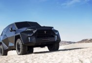 The Outrageous SUV Inspired by the Stealth F-117 Nighthawk (21 Pics)